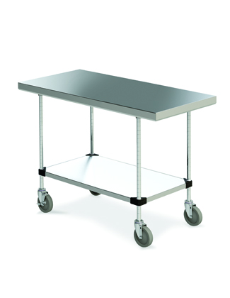 Mobile Stainless Worktable
